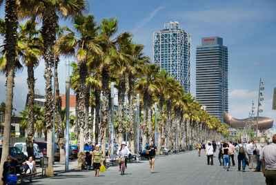 Appartements à vendre à Barcelone, près de la mer, avec une licence pour l'utilisation comme la location touristique